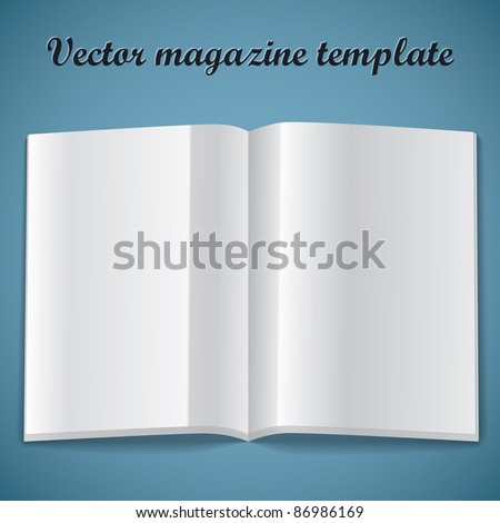 Blank Newspaper Front Page Template