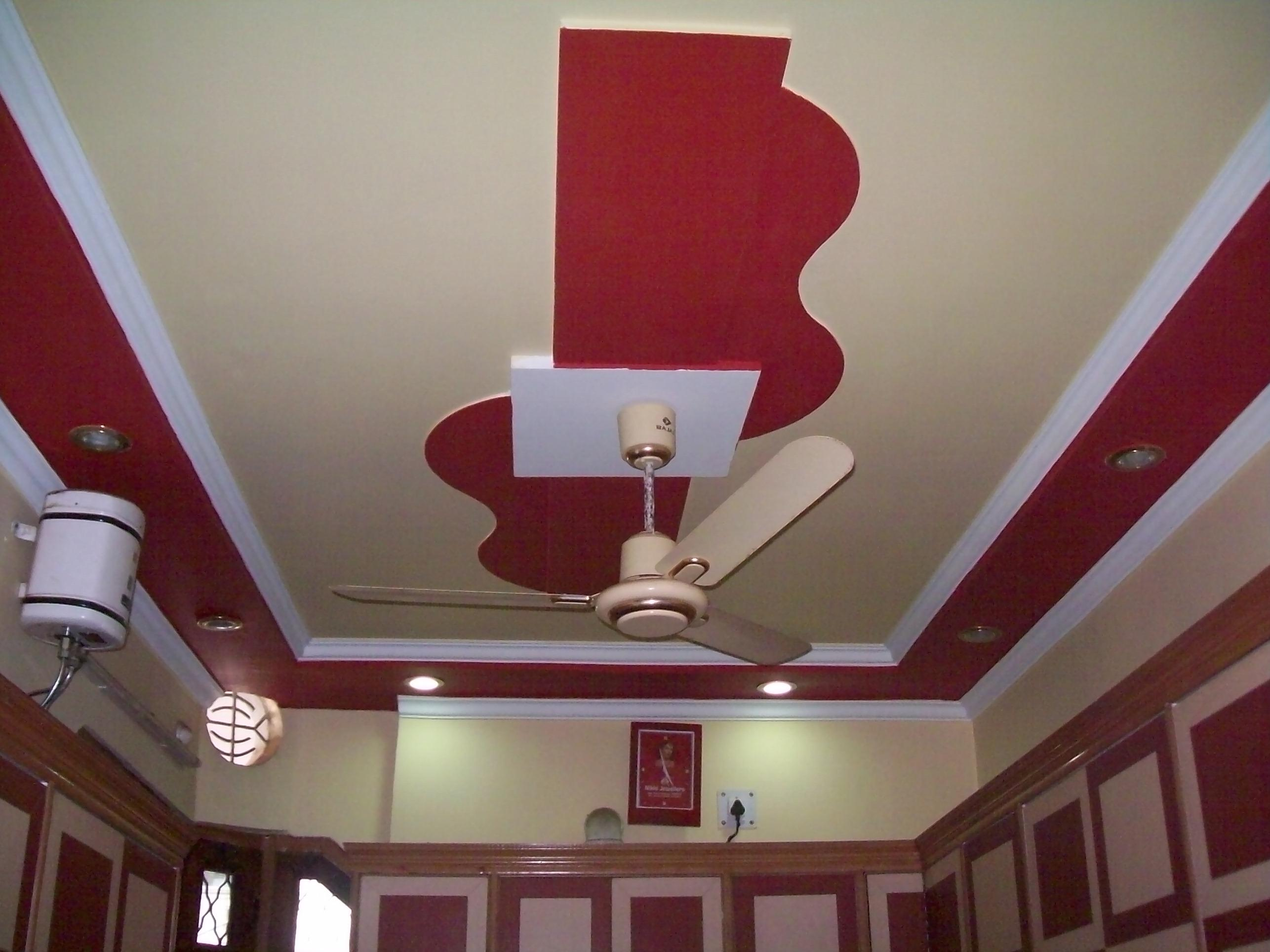 plaster of paris ceiling designs for living room